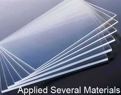 Applied several materials