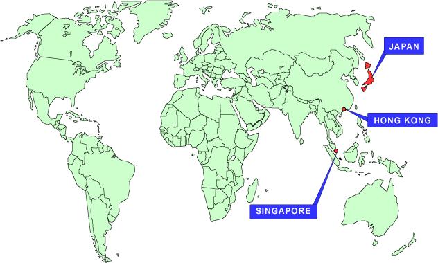 Agency map